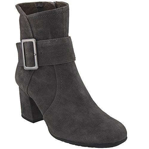 Athena Leather - Earthies Women's Dark Slate Athena 9 Medium US