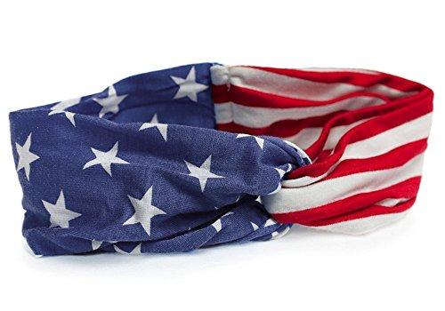 Sidecca American Flag Twist Turb...