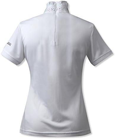 BUSSE(ブッセ) バルヴェ ショーシャツ レディース ホワイト M BU-CP-760193LA