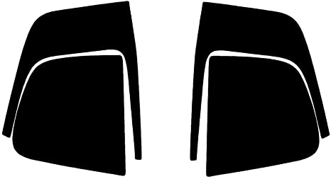 Matte Smoke Rtint Tail Light Tint Covers for Dodge Charger 2011-2014