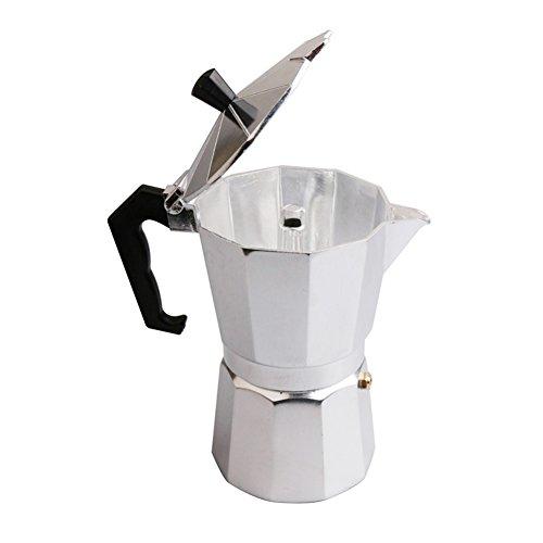 Junda Italian Espresso Coffee Maker Stove 1/3/6/9/12 Cup Stovetop Espresso Maker Top Moka Macchinetta Latte Coffee Pot Stove