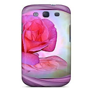 New Premium Mialisabblake Rose Swirls Skin Case Cover Excellent Fitted For Galaxy S3