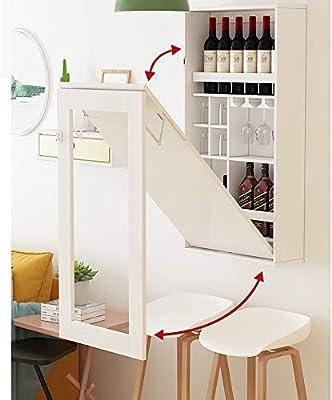 Mesa alta de Bar Multifunción pared plegable montado en la cocina ...