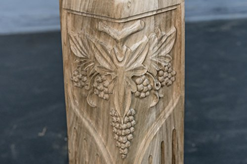 Hand Carved Semi-finished Table leg- 4 pieces set