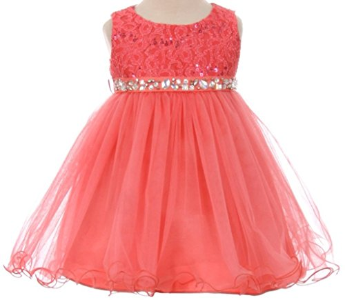 lavender and peach dress - 6