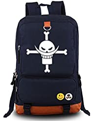 Siawasey Anime One Piece Cosplay Luminous Messenger Bag Backpack School Bag