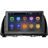 SYGAV Android 7.1.1 Radio for 2014-2015 Mazda CX5 Car Stereo Touch Screen 10.2 Inch 2G Ram GPS Sat Navigation Head Unit Bluetooth FM/AM/RDS/WiFi/USB/SD/Mirrorlink