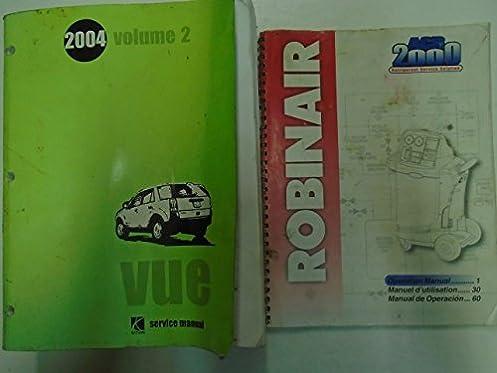 2004 gm saturn vue volume 2 service shop repair manual factory oem rh amazon com 2004 saturn vue repair manual pdf free 2004 saturn vue repair manual pdf free