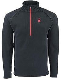 Men's Outbound 1/2 Zip Stryke Jacket, Black/Red, Large