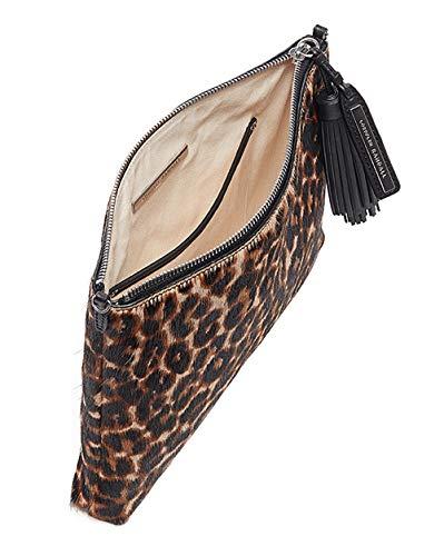RANDALL Split Tassel Pouch Light Suede Woven LOEFFLER Leopard dw4nqTUpdH