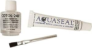 Aquaseal Flexible Durable Repair Adhesive and Cure Accelerator 1oz