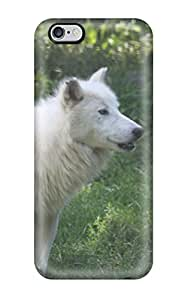 Hot 2365814K70664469 Case Cover Protector For Iphone 6 Plus Arctic Wolf Case