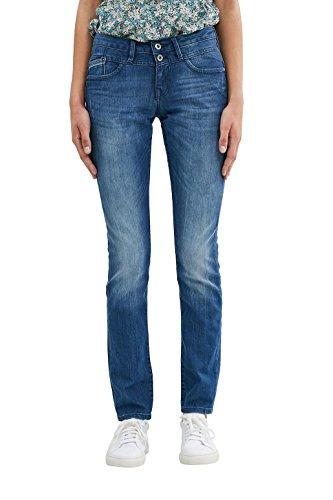 edc by Esprit Jeans Femme Bleu (Blue Medium Wash)