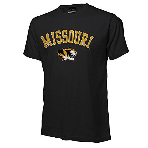 NCAA Missouri Tigers Ouray Short Sleeve Tee, Black, Large