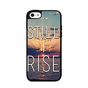 Still I Rise Plastic Phone Case Back Cover iPhone 5 5s
