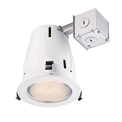 Commercial Electric 4 in. Recessed White Reflector Kit