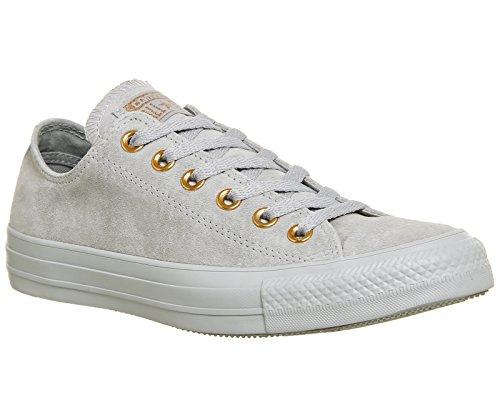 Converse Unisex-Erwachsene CTAS Ox Wolf Grey/Blue Chill Sneaker Grau (Wolf Grey/Wolf Grey/Blue Chill 097)