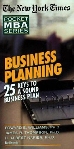 The New York Times Pocket MBA Series: Business Planning