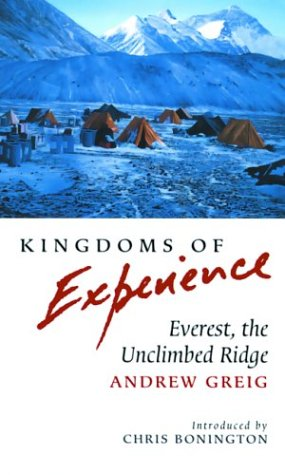 Kingdoms of Experience: Everest, the Unclimbed Ridge (Travel)