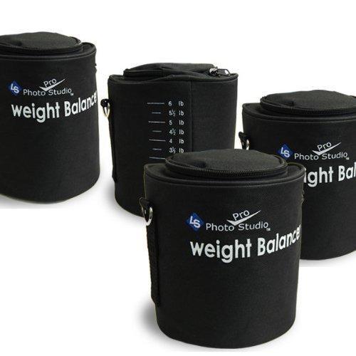 LimoStudio 4 x Photographic Studio Video Equipment Century Stand Light Stands Sandbag Sand Bag Saddle Bag by LimoStudio