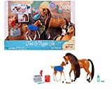 Spirit Riding Free ! Feed & Nuzzle Collectible Figurines Set 10 pieces