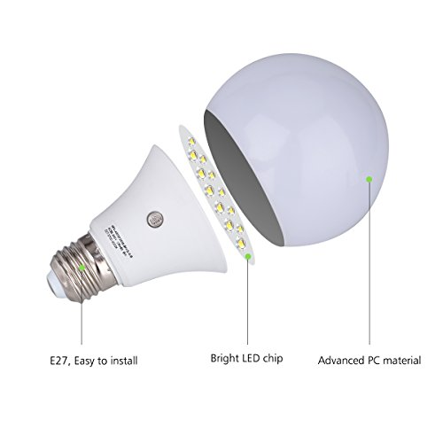 e27 led dusk to dawn sensor light bulbs built in photosensor detection auto new ebay. Black Bedroom Furniture Sets. Home Design Ideas