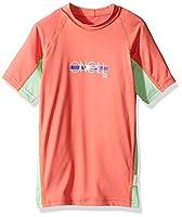 O'Neill Girls Premium Skins Upf 50+ Short Sleeve Rash Guard