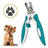 Number-One Dog Nail Clipper, Dog Nail Trimmer with Safety Switch Lock, Professional Stainless Steel Pet Nail Trimmer Pet Grooming Tool for Dog Cat Rabbit Parrot