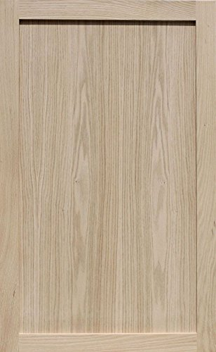 Unfinished Oak Shaker Cabinet Door by Kendor, 39H x 24W by Kendor