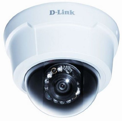 D-Link Systems DCS-6113 Full HD Fixed Dome Network Camera (White) by D-Link