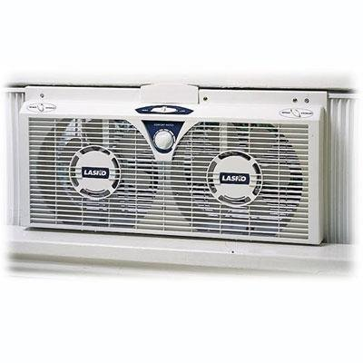 8 Electric Twin Fan w Thermo