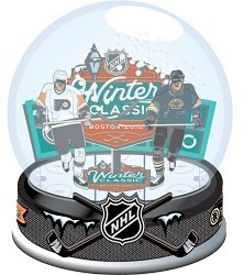 Collectible Snowglobe - Forever Collectibles 2010 NHL Winter Classic Snow Globe - WINTER CLASSIC 80 mm
