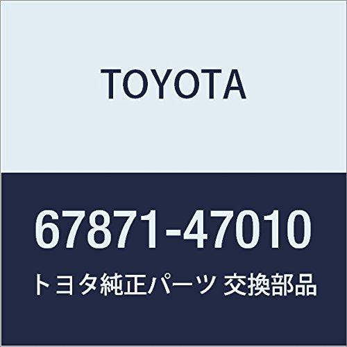 TOYOTA Genuine 67871-47010 Door Weatherstrip