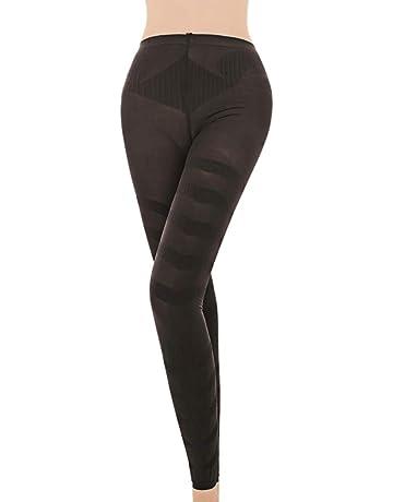 SQUAREDO Pantalones para Adelgazar en Forma, Escultura Pantalones con Forma de Pierna para Dormir Calcetines