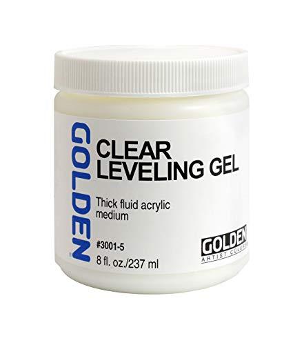 - Golden Clear Leveling Gel Medium 8 Ounce
