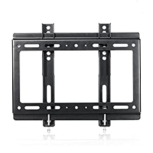 "TV Wall Mount Bracket, Lumsing Slim Low Profile TV Mount for 14-42 Inch 13"" 15"" 17"" 19"" 20"" 22"" 23"" 24"" 26"" 27"" 30"" Corner LCD LED Plasma Flat Screen Monitor MAX Vesa 200x200mm"