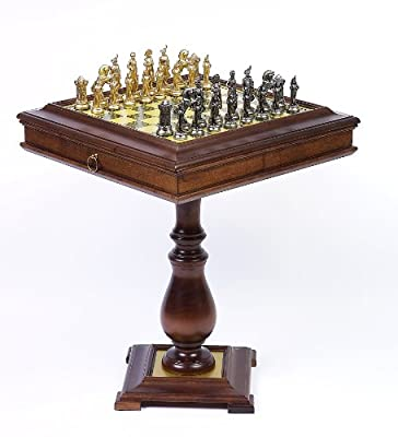 Bello Games Collezioni - Napoleon Chessmen & Venezia Chess Table from Italy