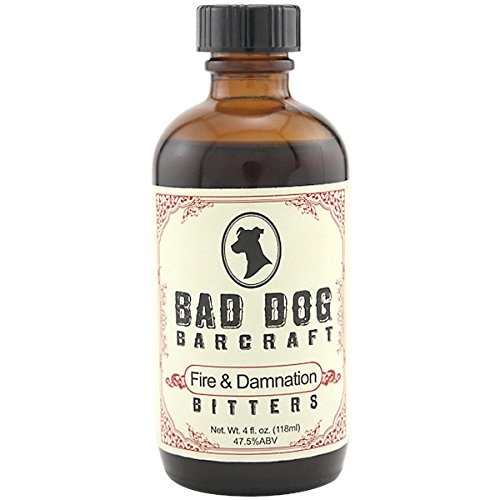 Cocktail Hot Dog (Fire and Damnation Bitters)