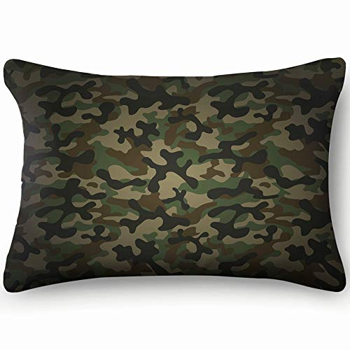 Texture Military Camouflage Repeats Army Abstract Throw Pillow Case Cushion Cover Double Side Design 20