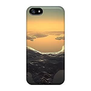 Iphone 5/5s Cases Bumper Tpu Skin Covers For 3d Scenery Accessories
