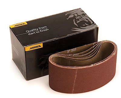 Mirka 4x24 Hiolet-X Portable Belt 100Grit (Sold 10 per pack)