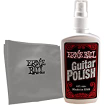 Ernie Ball Guitar Polish with Cloth