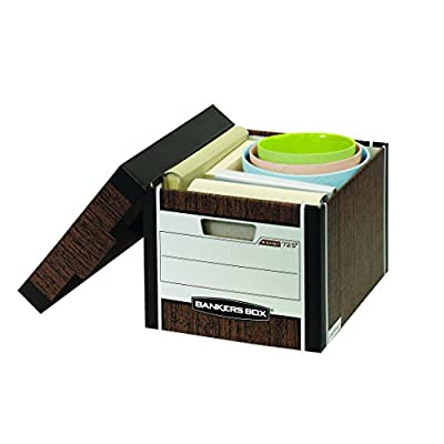 Bankers Box R-Kive Heavy-Duty Storage Boxes, Letter