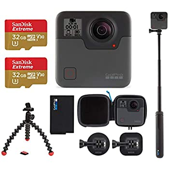 Amazon com : GoPro Fusion - 360 Waterproof Digital VR Camera