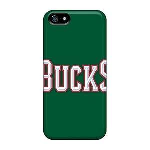 Hot Fashion MWJ1644OfUt Design Case For Samsung Note 2 Cover Protective Case (nba Milwaukee Bucks 2)