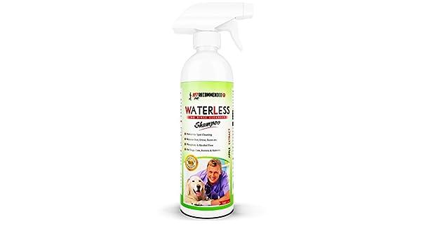 Vet recomendado - Waterless - Champú de perro no enjuague ...