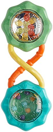 Bright Starts Rattle & Shake Barbell Toy, Ages 3 months