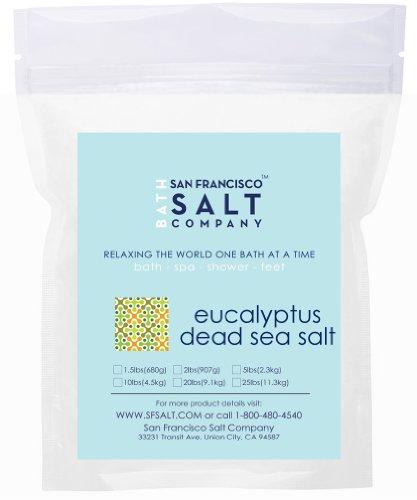 Eucalyptus Dead Sea Salt - 20lb Bag (Dead Sea Salt 20 Lbs compare prices)