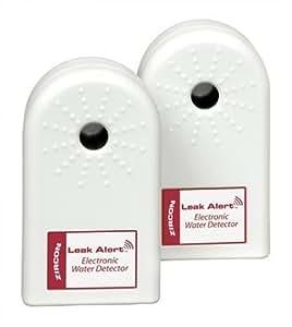 Zircon 61959Leak Alert Electronic Water detector Batteries included, 2-pack Size: 2Pack, Model: Leak Alert 2pk, Tools & Hardware Store