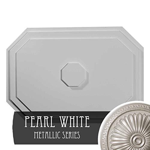 Pearl Medallion Ceiling - Ekena Millwork CM25FEPWS 25-1/4
